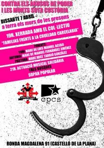 07-04-2018 presó Casal Popular de Castelló